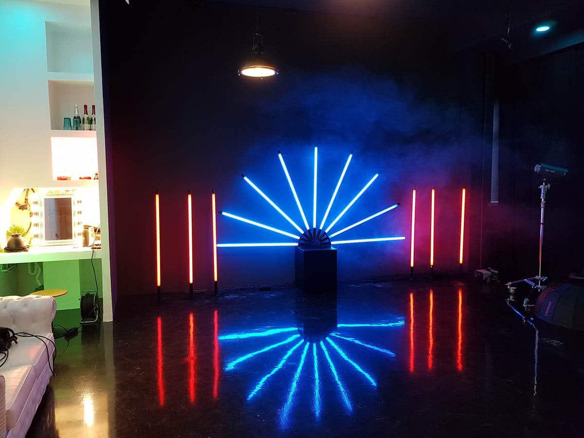 neonbeleuchtung - Fotostudio günstig mieten